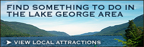 View attractions in the Lake George Area