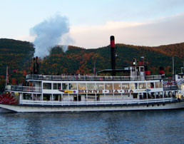 Take a cruise on Lake George
